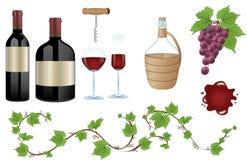 Moisson de vin Photos libres de droits