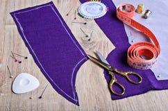 Moisson du tissu Images stock
