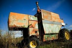 Moissonneuse abandonnée Photographie stock libre de droits