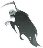 Moissonneuse sinistre illustration de vecteur