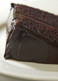 Moist chocolate cake Royalty Free Stock Images