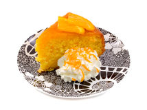 Moist Orange Cake Royalty Free Stock Photo