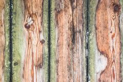 Moist planks wood grain. Wood plank texture Royalty Free Stock Image