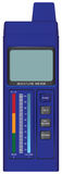 Moisture meter Royalty Free Stock Image