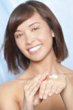 Moisturising Hand Cream Stock Photos