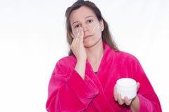 moisturizer royaltyfri fotografi