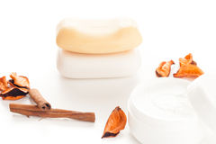 Moisturizer beauty products Stock Image