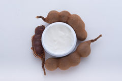 Moisturizer extracted from tamarind Stock Photos
