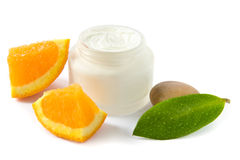 Moisturizer with vitamins royalty free stock image