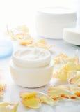 Moisturizing cream Stock Images