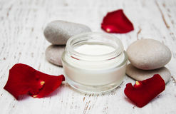 Moisturizing cream Stock Images
