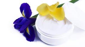 Moisturizing Cream in Tub Stock Image