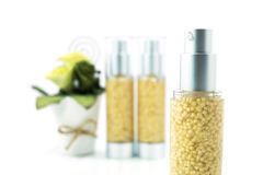 Moisturizing serum for face and body care concept Stock Photos