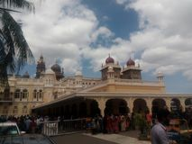 Moisure palace. Palace of tipusultan south india Stock Image