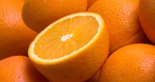 Moitié d'orange Images stock