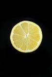 Moitié d'un citron Image stock