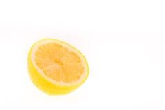 Moitié d'un citron Image libre de droits