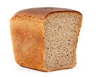 Moitié d'un pain de pain photos stock