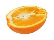 Moitié d'une orange Photo libre de droits