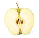Moitié de pomme image libre de droits