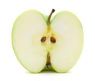 Moitié de pomme Photographie stock libre de droits