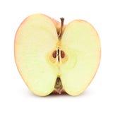Moitié de pomme Photos libres de droits
