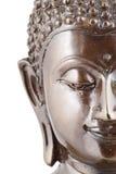 Moitié du visage de Bouddha image stock