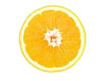 Moitié orange photo stock