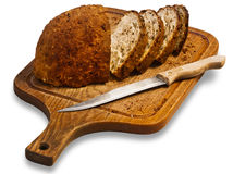 Moitiés de pain Photos libres de droits