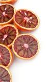 Oranges sanguines Photos libres de droits