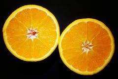 Moitiés oranges Photographie stock libre de droits