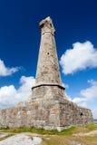 Mojón Brea Monument Cornwall imagen de archivo