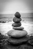 Mojón de la roca Fotos de archivo libres de regalías