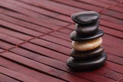 Mojón de piedra Foto de archivo