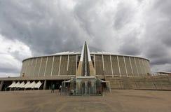 Mojżesz Mabhida stadium Durban zdjęcie royalty free