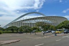 Mojżesz Mabhida stadium piłkarski w Durban fotografia royalty free