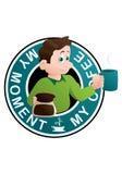 moja kawa Zdjęcie Royalty Free