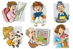 moja rodzina ilustracja wektor