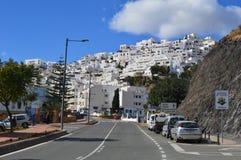 Mojacar, Andaluciya,西班牙 免版税库存照片