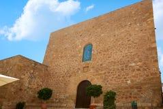 Mojacar Almeria Mediterranean church in Spain Stock Photo