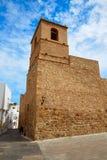 Mojacar Almeria Mediterranean church in Spain Royalty Free Stock Photography