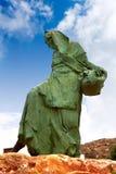 Mojacar Almeria mojaquera statue woman Spain Stock Images