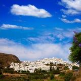 Mojacar in Almeria village skyline in Spain Royalty Free Stock Image