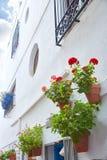 Mojacar Almeria white Mediterranean village Spain Royalty Free Stock Photography