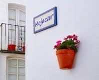 Mojacar Almeria white Mediterranean village Spain Royalty Free Stock Images