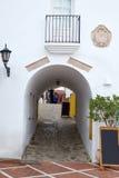 Mojacar Almeria white Mediterranean village Spain Stock Photography