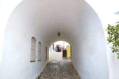 Mojacar Almeria white Mediterranean village Spain Royalty Free Stock Image