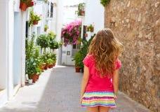 Mojacar Almeria white Mediterranean village Spain Royalty Free Stock Photos