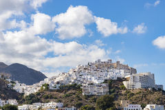 Mojacar Hilltop Village Stock Photo
