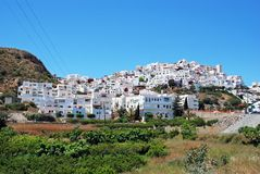 Mojacar pueblo, Spain. Stock Image